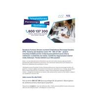 Narodowy Funduszu Zdrowia uruchomił Teleplatformę Pierwszego Kontaktu 1